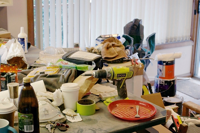 kitchen disaster