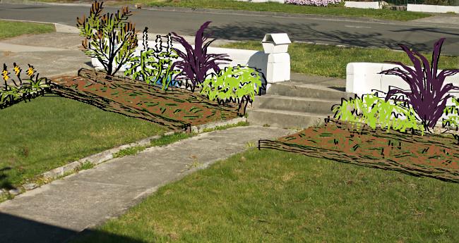 yard drawing