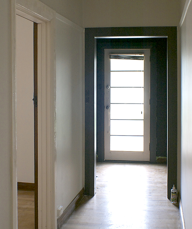 black hole hallway