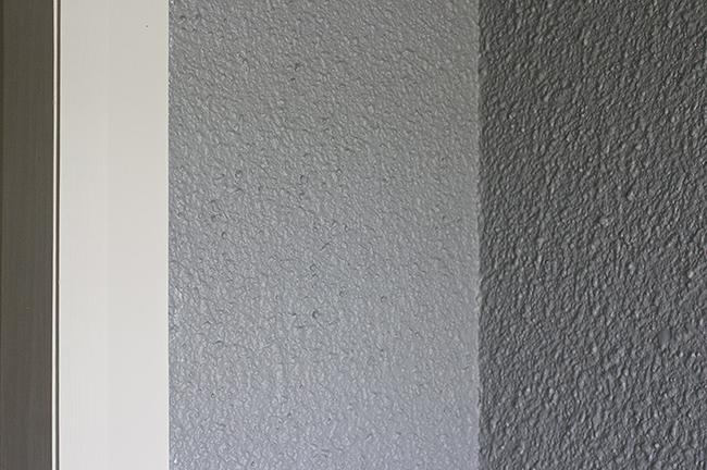 gray painted render