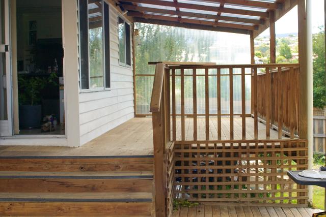 empty deck