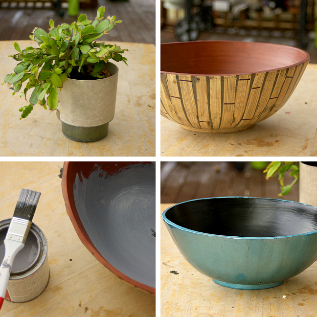cactus bowl paint