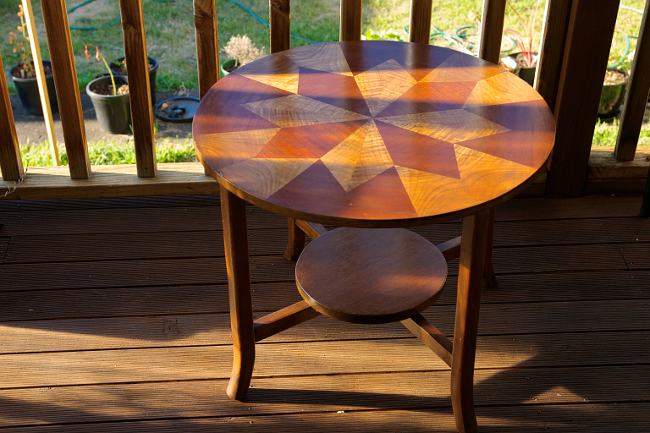 star inlay table