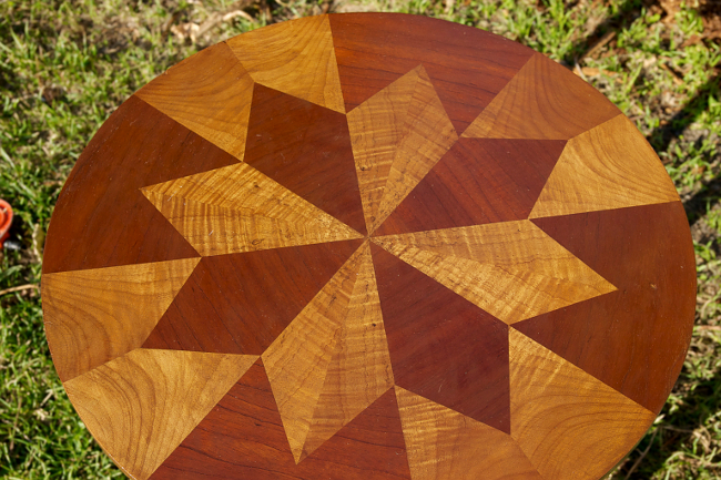 star inlay top finished