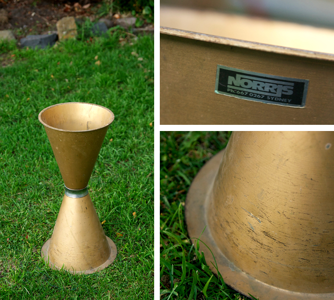 cone ashtray