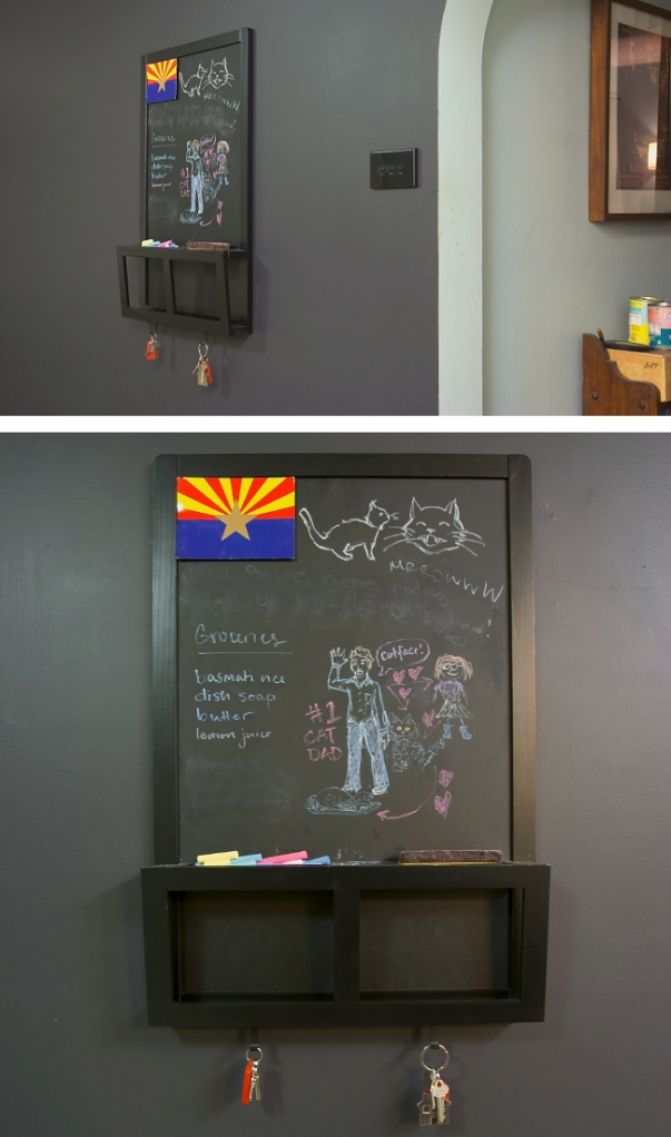 message board black