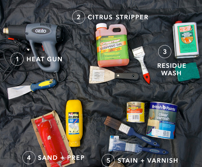 paint stripping tools