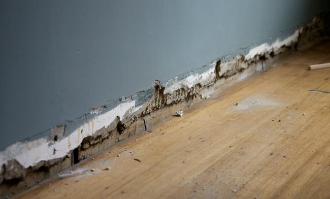 baseboard - cavity
