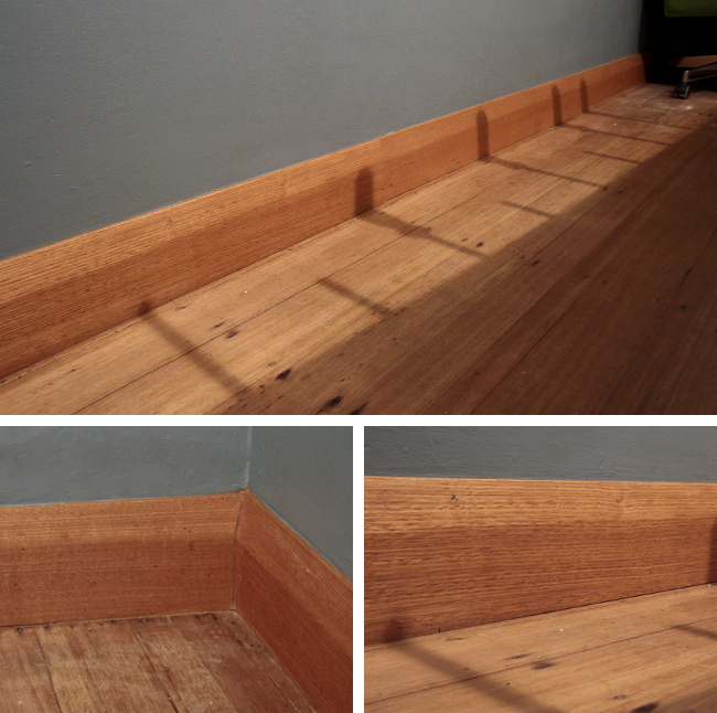 baseboard finished