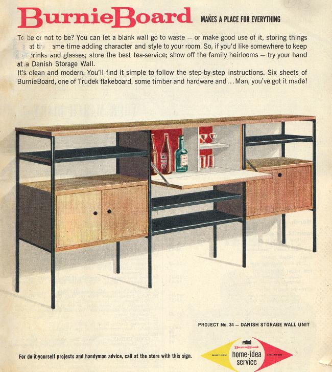 flatpack danish cabinet