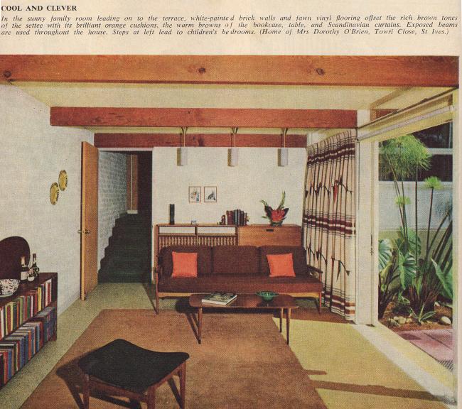 The Living Room Australia: Australian House And Garden, 1965.