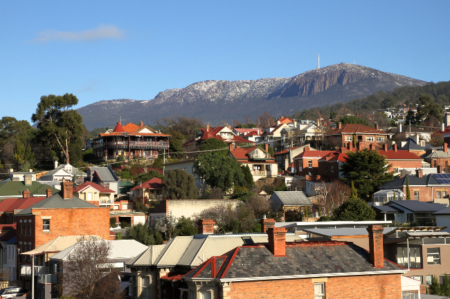 West Hobart / Mt Wellington