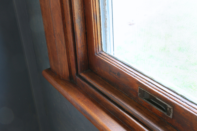 finished mb window sill