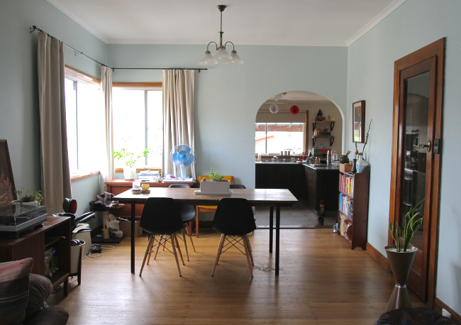 dining room - current
