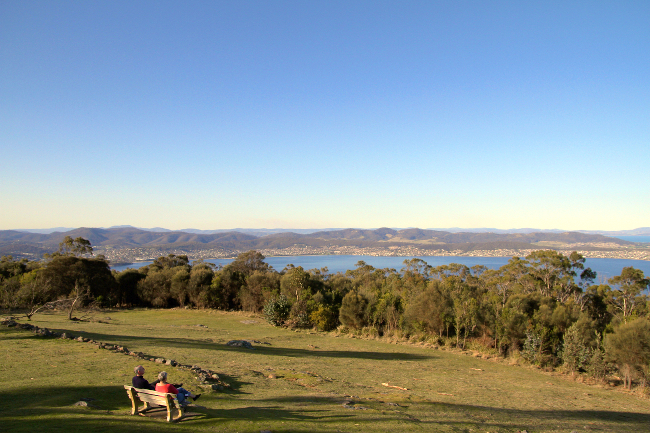 Mt Nelson lookout