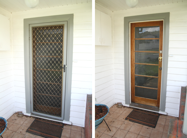 screen door removal