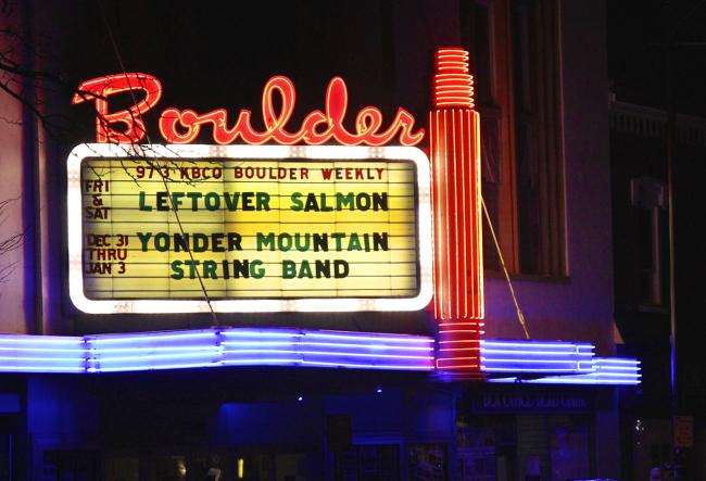 Boulder marquee