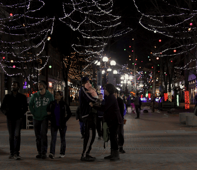 Pearl St Mall, Boulder