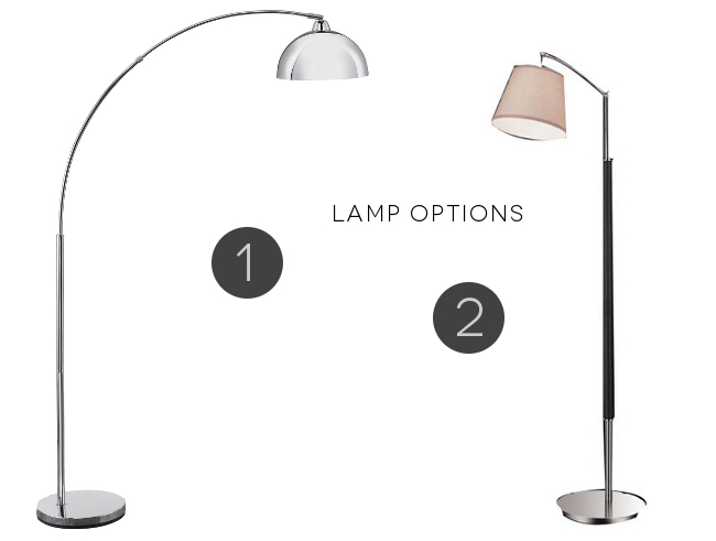 Arc lamp options