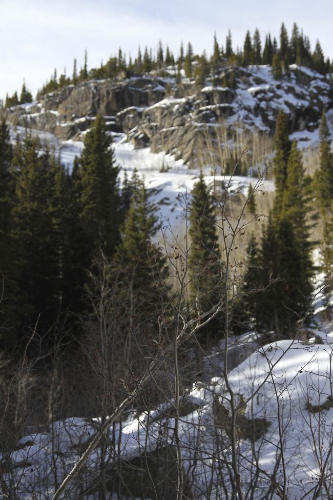 Bear Lake mountains