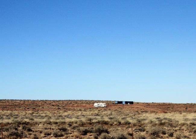 Desert winnebago