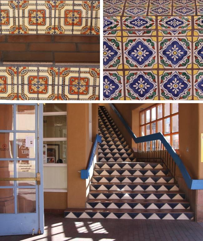 Tiles in Santa Fe