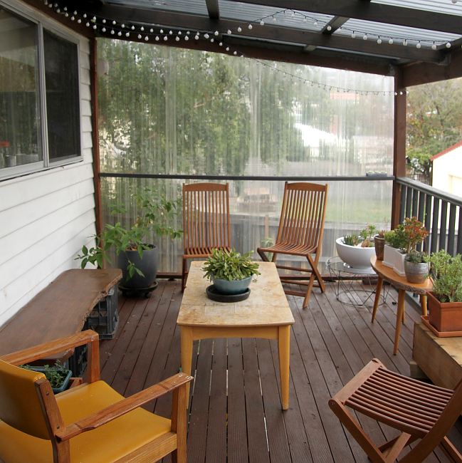 Deck, late summer