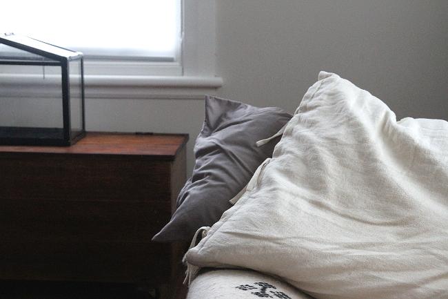 Futon pillow