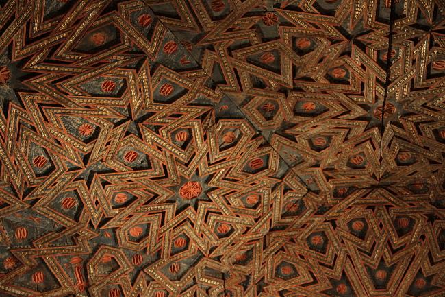 Ceiling detail - Met
