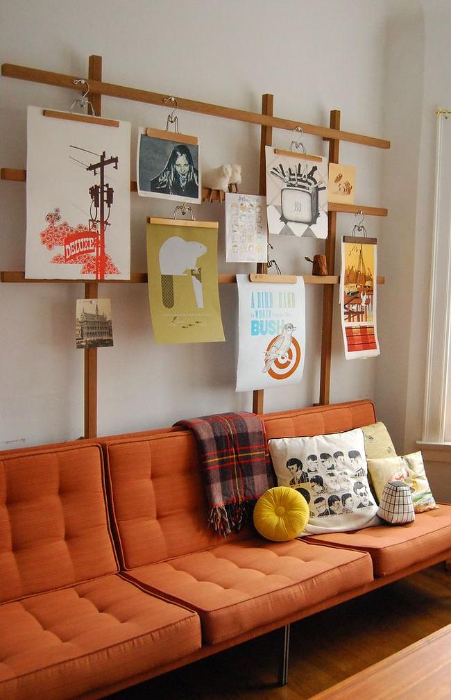 Ladies and Gentlemen Home display hangers