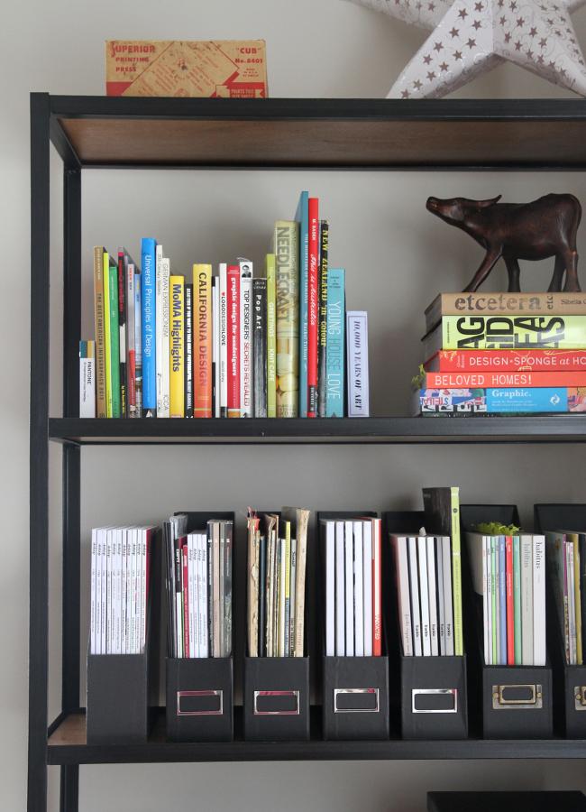 Study shelving