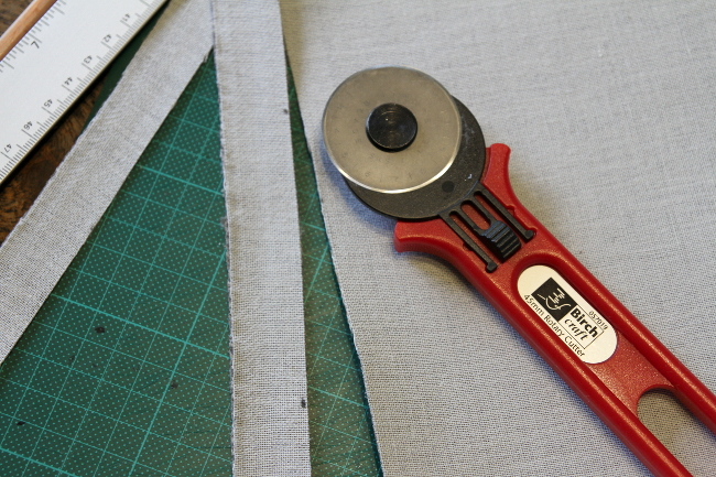 Cutting fabric
